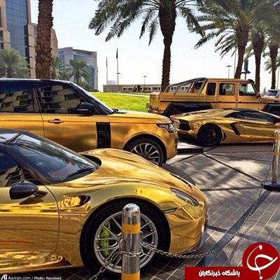 زندگی اعیانی بچه پولدار های عرب در اینستاگرام؛ از قلیان طلا تا ببرخانگی