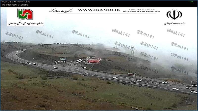 ترافیک نیمه سنگین در محور کرج-چالوس/ادامه بارش باران در 3 استان +تصاویر