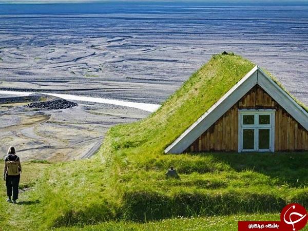 خانه های چمنی + تصاویر