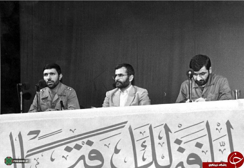 محسن رضایی کمال خرازی و صیاد دلها در روزگار فراموش نشدنی+عکس