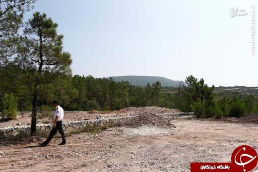 عکس/ گورستان خائنان در ترکیه
