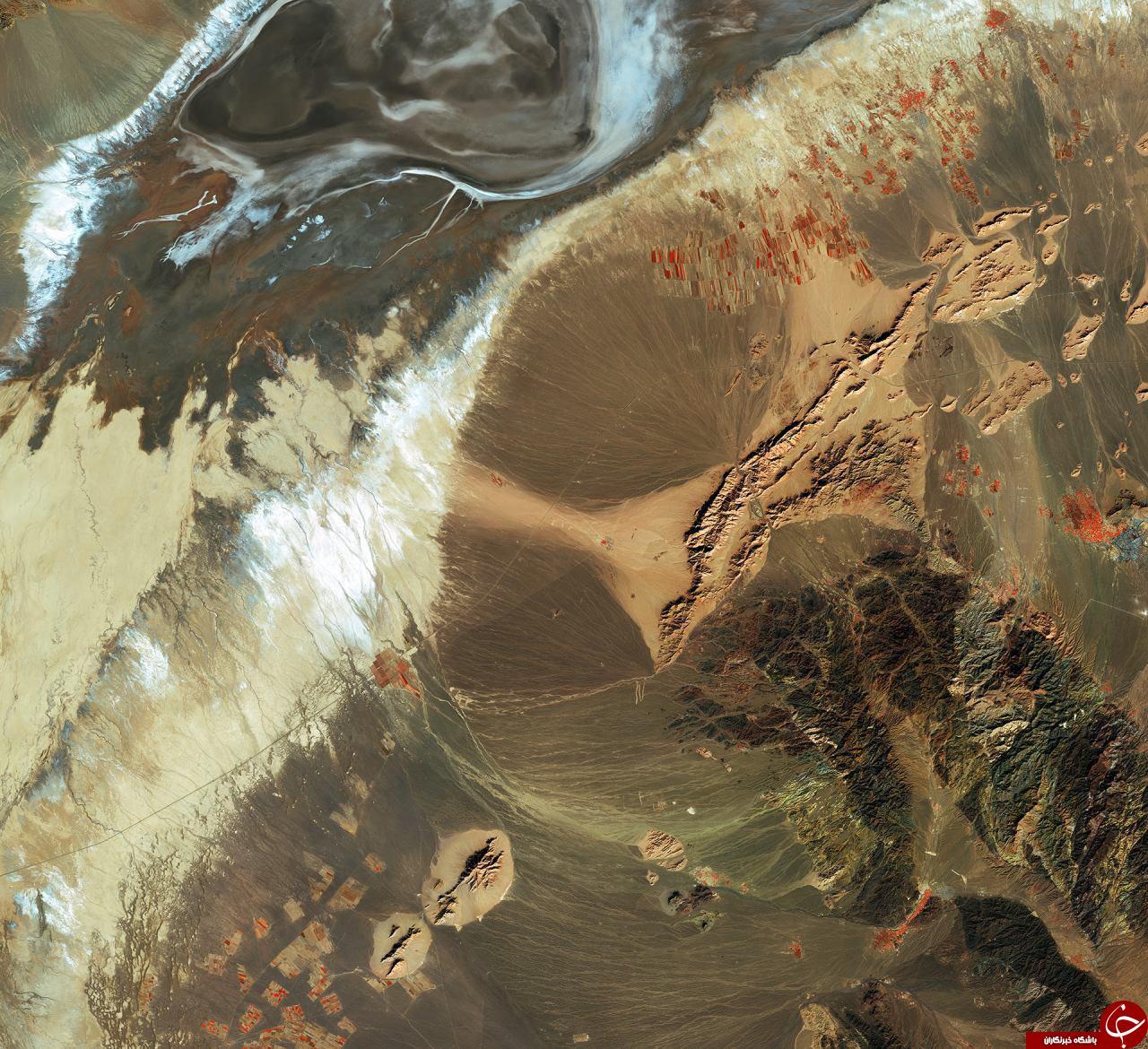 تصویر ماهواره از ایران توسط سازمان فضایی اروپا