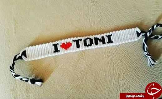 هدیه جالب هوادار تراکتور برای تونی + عکس