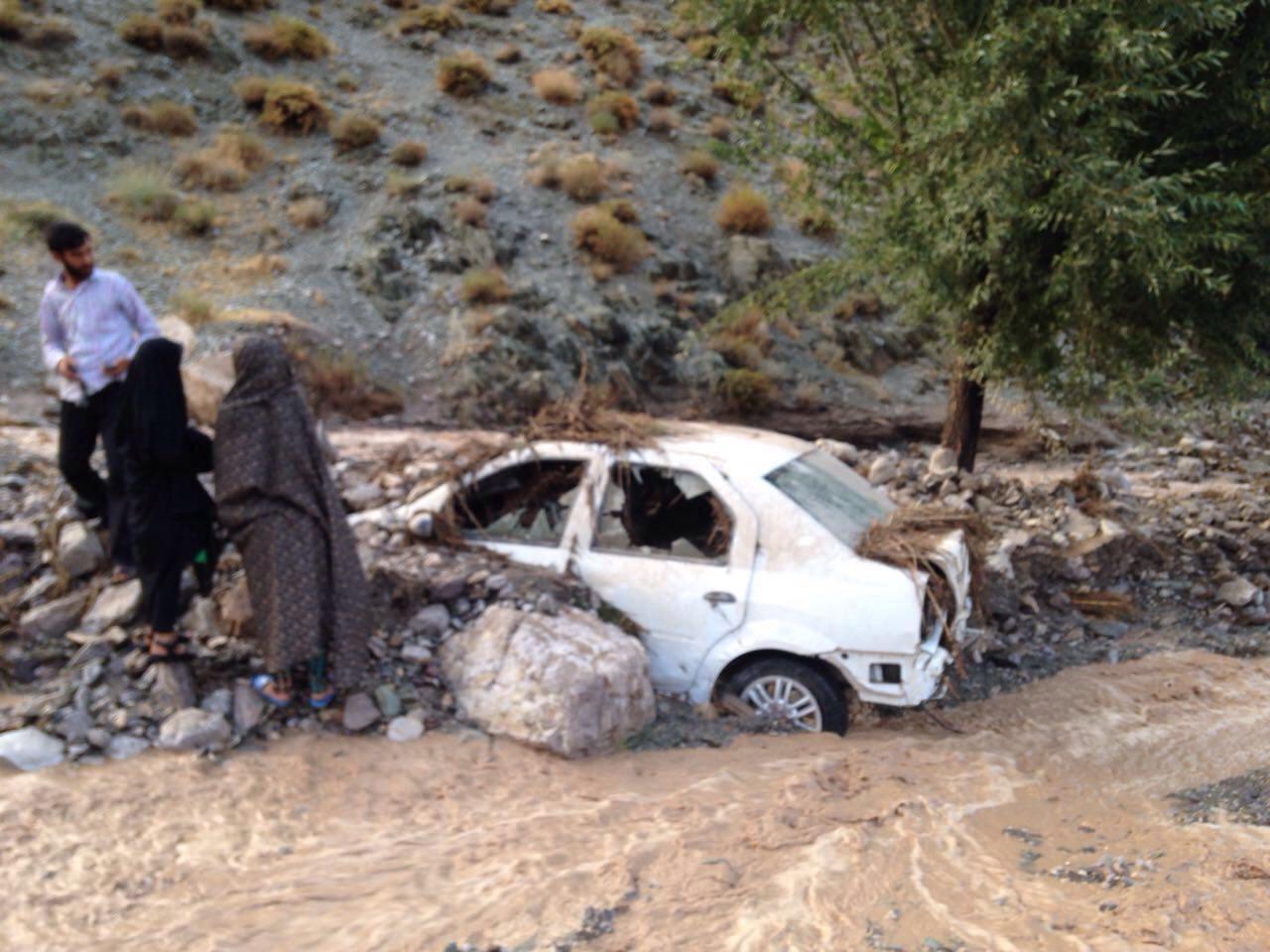 بارندگی شدید در کرمان 3 کشته برجای گذاشت+تصاویر