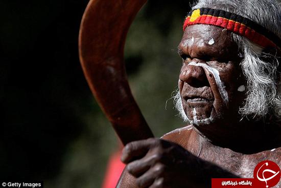 استرالیاییها قدیمی ترین نژاد روی زمین +تصاویر