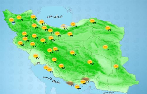 پدیده گرد و خاک از عراق وارد می شود
