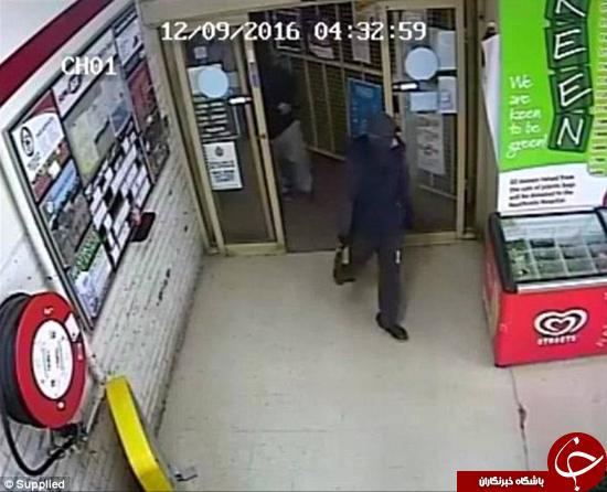 دزدیدن سیگار از مغازه +تصاویر