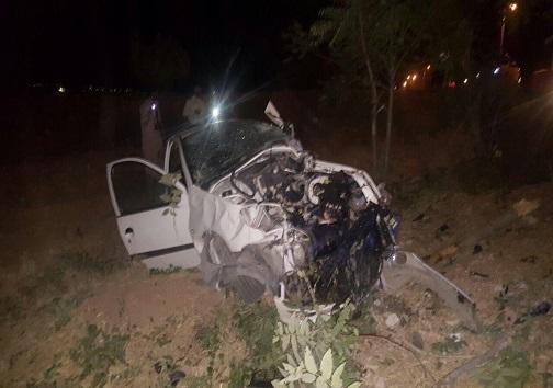 تصادف مرگبار در اولین روز ماه مهر