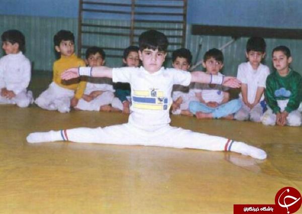 تصاویری قدیمی از هنرمندان و ورزشکاران مشهور ایرانی
