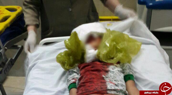 مرگ پسر بچه به علت سقوط ازساختمان+ تصویر