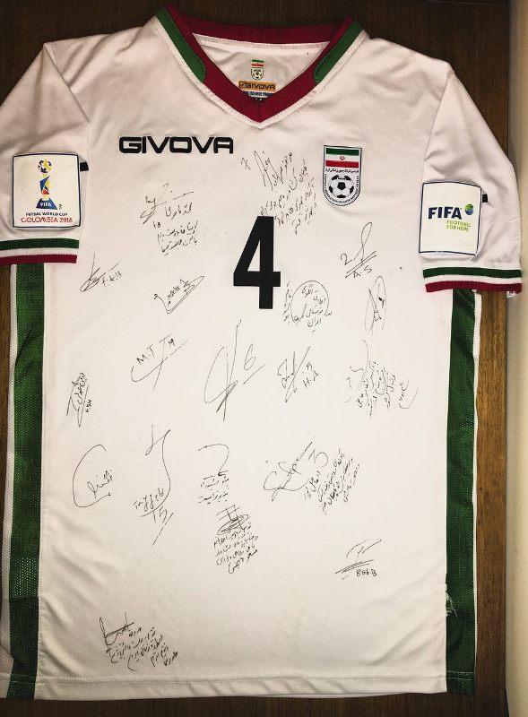 خداحافظی کاپیتان تیم ملی فوتسال در جام جهانی
