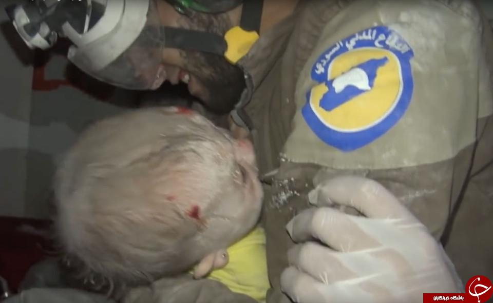این تصویر از کودک سوری  بغض مجری خبر را نیز شکست+ تصاویر