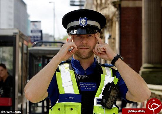 با هوش ترین پلیس جهان را ببینید +تصاویر