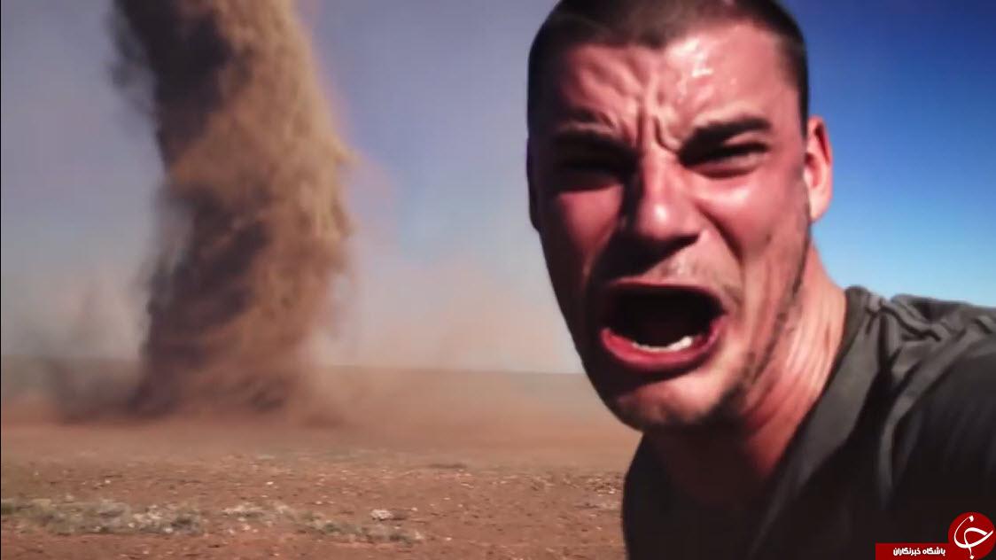 پسر دیوانه ای که وارد گردباد شد + فیلم