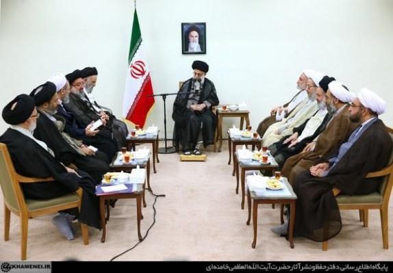 بیانات رهبر معظم انقلاب در دیدار اعضای شورایعالی حوزههای علمیه