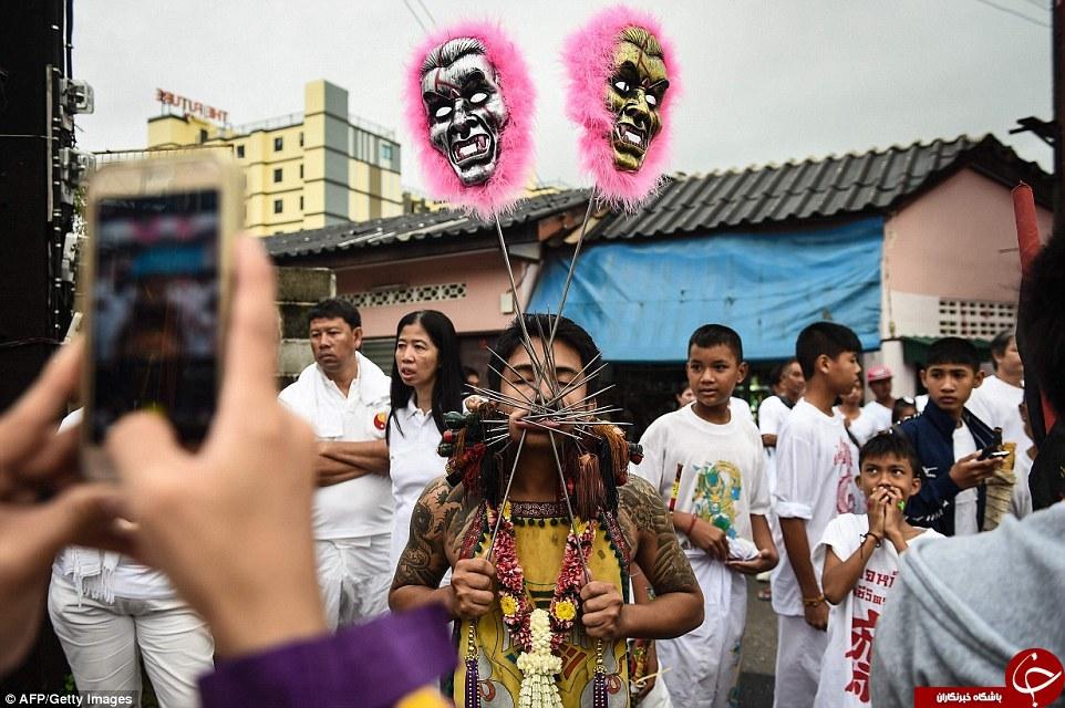 5234810 143 - جشنواره ای وحشتناک در تایلند (عکس +18)