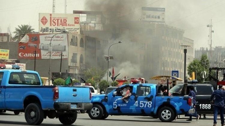 وقوع انفجارهای متعدد در بغداد