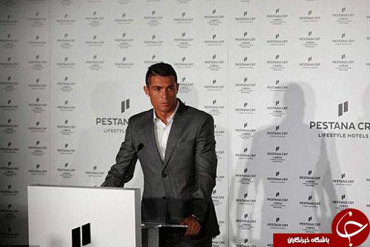 رونالدو رسما هتل خود را افتتاح کرد +تصاویر