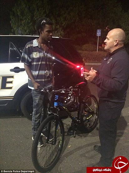 کار خیر پلیس در قبال یک شهروند +تصاویر
