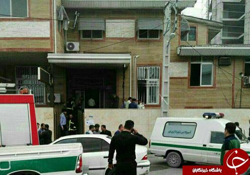 خودکشی یک شهروند در اداره دارایی شهرستان نور + تصاویر