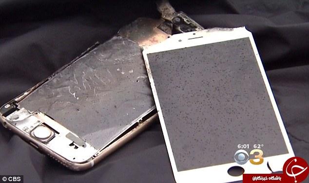 انفجار آیفون خاموش در جیب یک دانشجو +تصاویر