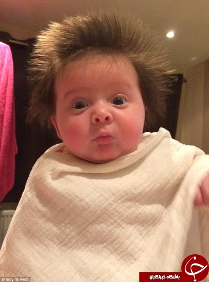 مدل موهای عجیب کودکان +تصاویر