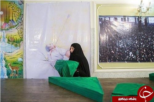 آمادهسازی لباس شیرخوارگان حسینی +تصاویر