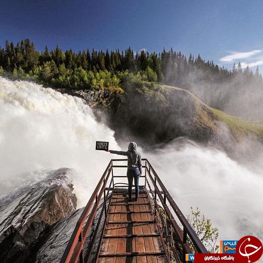 تصاویری از سفر زوج جوان به خاص ترین مکانهای دنیا