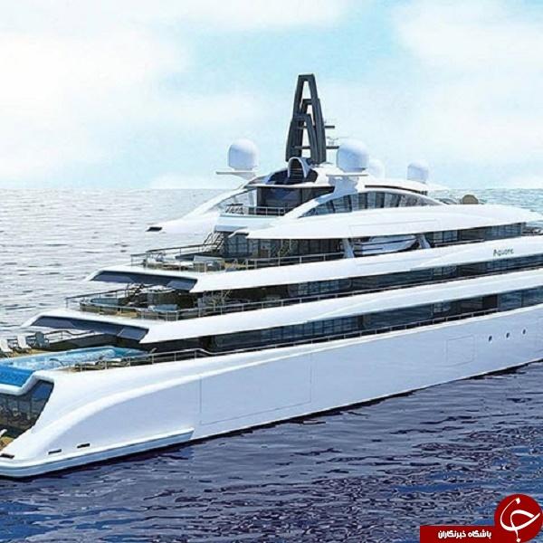 مجلل ترین کشتی های جهان