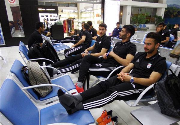 تیم ملی فوتبال در تاشکند حبس شد + تصاویر