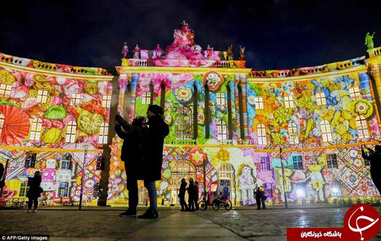 دروازه برلین در زیبایی هرچه تمامتر +تصاویر