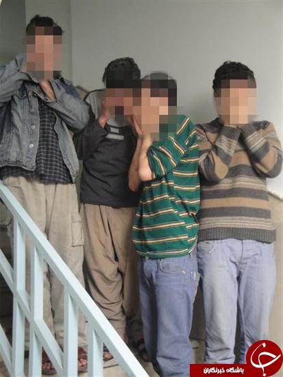 دستگیری باند سارقین زورگیر 18 ساله ها در پایتخت / شکات به پلیس آگاهی مراجعه کنند +تصاویر