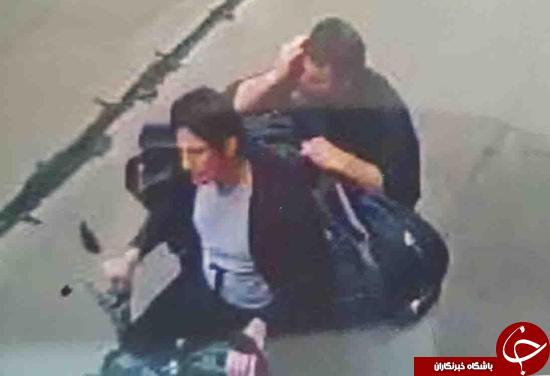 تصاویر سارقین مسلح شعبه بانک خیابان هدایت منتشر شد