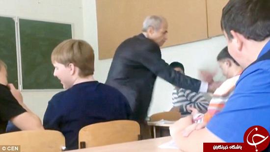 صحنه دراماتیکی که در کلاس درس اتفاق افتاد +تصاویر