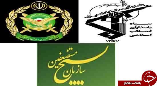 بازوهای قدرتمند نظام ایران را بهتر بشناسیم + آمار و جزئیات