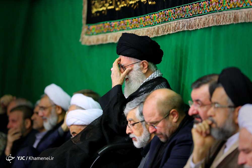 دومین شب مراسم عزاداری حضرت اباعبدالله الحسین (علیهالسلام) در حسینیه امام خمینی