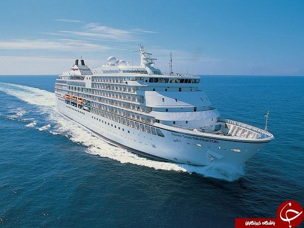 مجللترین کشتیهای جهان+تصاویر