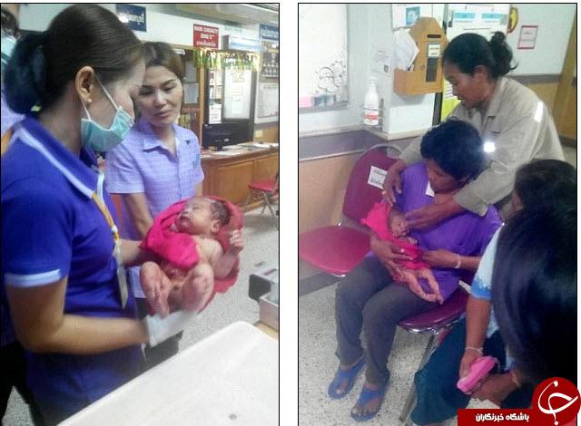 نوزاد هفت ماهه ای که پس از ضربات چاقو و زنده به گور شدن زنده ماند + تصاویر