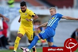 پیروزی دیناموزاگرب در غیاب علی کریمی