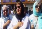 باشگاه خبرنگاران - توریستهای کانادایی و امریکایی در مراسم عزاداری حسینی + فیلم