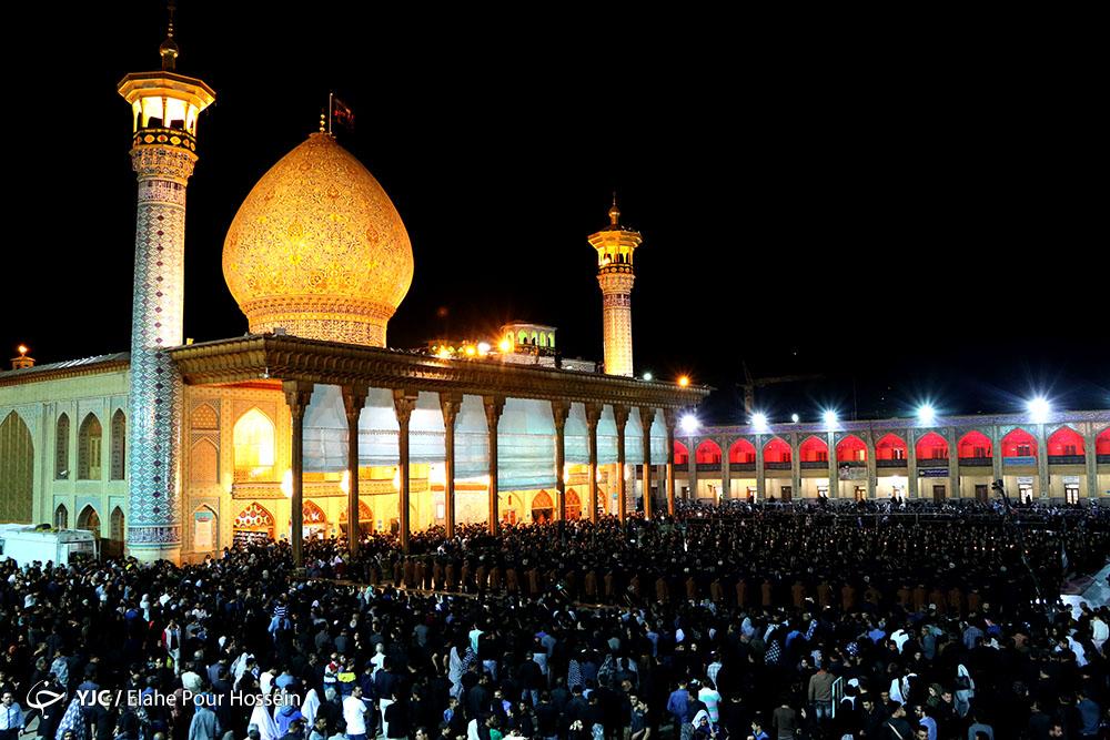مراسم شام غریبان حسینی در نقاط مختلف ایران + تصاویر