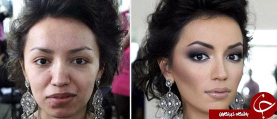 طلاق بعد از دیدن چهره بدون  آرایش عروس +عکس