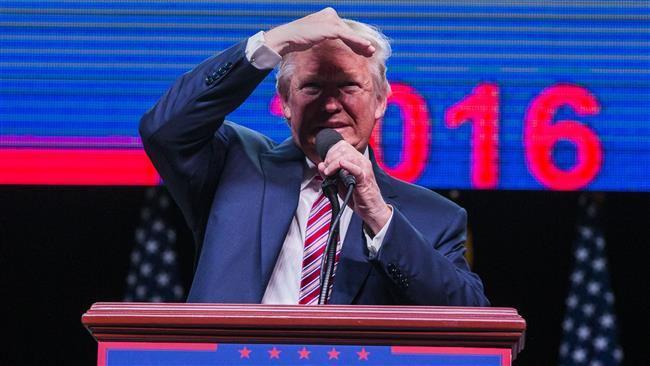 عقب نشینی انتخاباتی ترامپ در مسیر