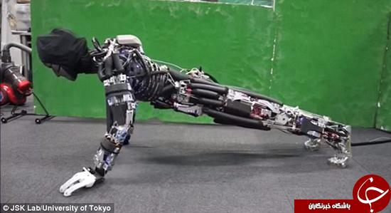 با «کنگورو» ربات انساننمای جدید آشنا شوید +تصاویر