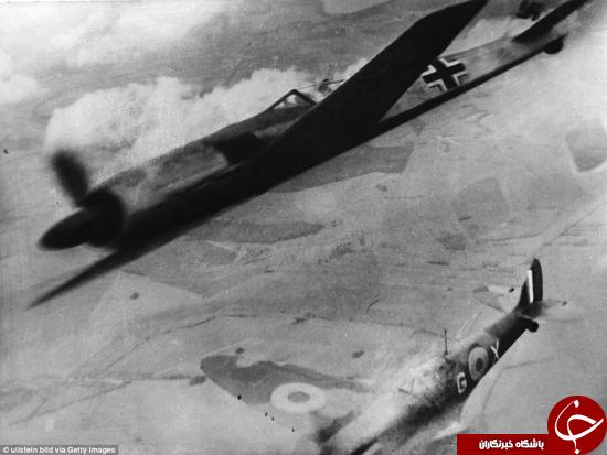 چه بر سر هواپیماهای آلمان آمد؟ +تصاویر
