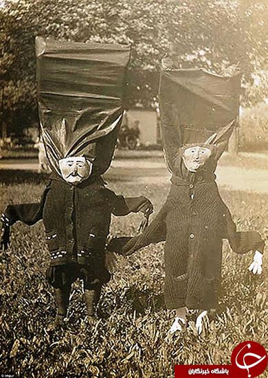 لباسهای عجیب برای هالووین +تصاویر