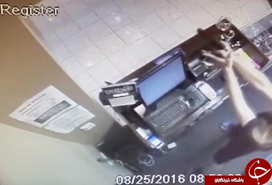 فروشندهای که از سارق هم خطرناکتر بود +تصاویر