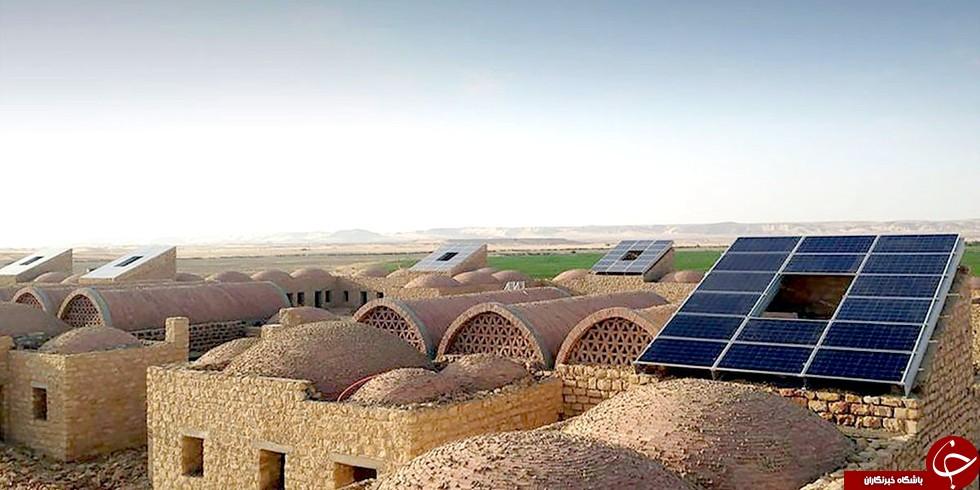 اولین روستای خورشیدی مصر