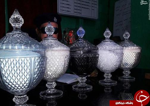 عکس/ بازداشت قاچاقچیان زهرِ مار