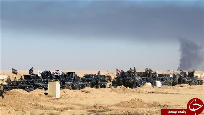اهداف اوليه عملیات موصل 350 مورد است/ بمباران هوایی شدید مواضع داعش/ نماز وحدت اهالی کراده به شکرانه آغاز عملیات